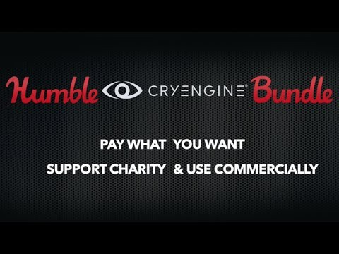 Humble CRYENGINE Bundle, Pay What You Want assets!
